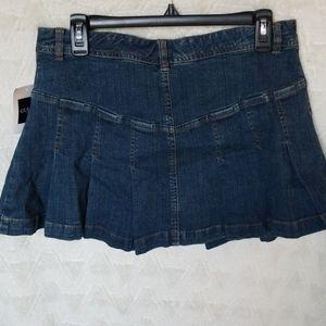 Guess Skirts - Early 00 Guess Jean's miniskirt Dark wash distress
